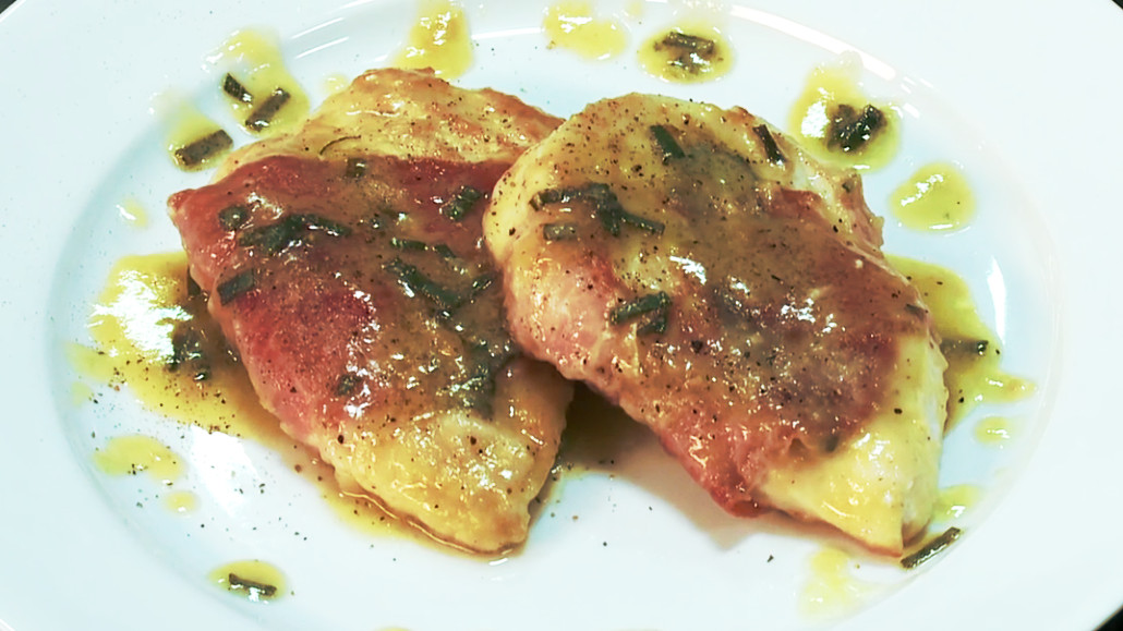 ... had a major prosciutto chicken saltimbocca with chicken saltimbocca